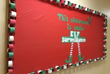Classroom Display Christmas