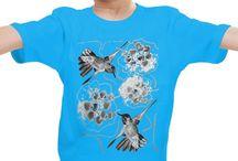 Футболки детские и товары для детей / Детские футболки и слюнявчики с принтами оригинального дизайна.