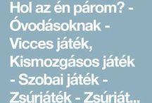 MOZGÁSOS JÁTÉKOK