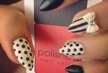 New obsession. .stiletto nails / by Danyel Perkins