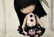 Куколки амигуруми