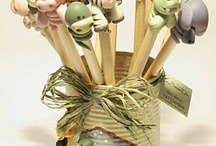 lápices decorados