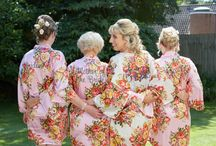 Blossom wedding robes