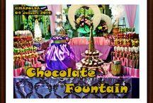 Chocolate Fountain 2014 / www.dapurfan.blogspot.com