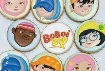 boboiboy cake