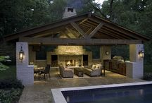 Dream outdoor pavilions