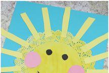 Tvoření v MŠ-Slunce