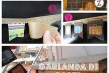 DIY - Tutorial 4 Racons / Petits tutorials visuals de handmade i creacions. Podreu trobar la informació més completa al nostre bloc. / Pequeños tutoriales visuales de handmade y creaciones. Podréis encontrar información más detallada en nuestro blog.
