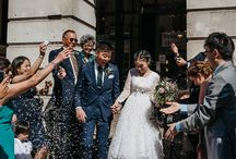 Confetti / Confetti is one of my favourite moments on a wedding day, full of nostalgia it brings joy to everyones faces. Definitely a old 'tradition' that shouldn't fade away