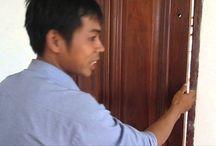 Cửa gỗ căm xe- Những đặc điểm nổi bật của cửa gỗ căm