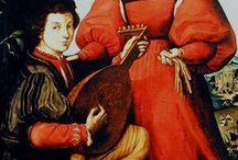 Red/black italian renaissance dress