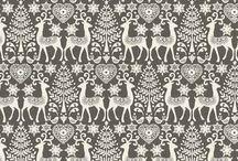 Makower 2017 Scandi fabric collection