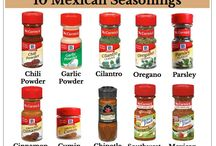 SEASONINGS.....