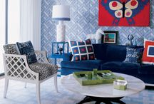 Geometrics : A Timeless Trend / Geometric prints and patterns are becoming increasingly popular,  both in the fashion and interior design world. Versatile and interesting, they constitute as anything from triangles and zigzags to polygons and hexagons. These decorating ideas pinned here are modern and suitable to any interior.  We've also rounded up some of our favourite geometric accessories, lighting  and furniture that will give your home a fresh & contemporary twist.