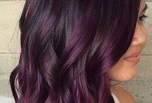 Purple highlights