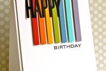Födelsedags kort