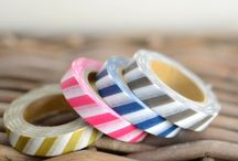 washi tapes STRIPES / washi tapes with stripes