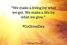 #CoGivesDay Inspirations / All about the Givers and Doers behind the #CoGivesDay movement.
