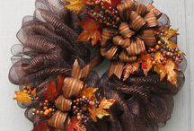 Brown Mactallic Wreath