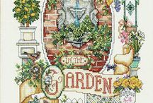 Cross Stitch-Garden & Kitchen