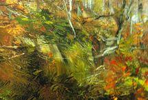 Art - Painting Foliage