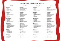 Home-cleaning/organization / by Ellaine Thornberry