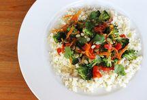 "Cauliflower ""Rice"" Stir-Fry"