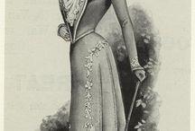 Fashion Plates and Portraits: 1900-1909