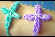 Rubber band without loom