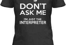 Sugn language interpreters
