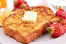 Comida y bebida desayuno