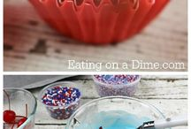 4th of July and Patriotic Cookout Recipes / Yummy, easy, family friendly 4th of July and Patriotic Cookout recipes to try.  Perfect dishes for family barbecues, dinners, birthday parties, holiday celebrations or any day of the week!  Homemade is always more delicious and a great way to pass on the cooking bug while bonding with your kids over scrumptious food!