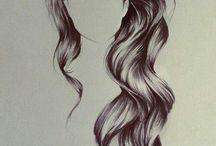 Drawing- Hair