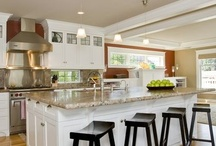 Kitchen ideas - islands, etc / by Dorothy Shomin
