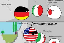 Languages, Countries, country balls and satw