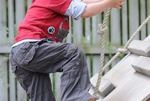 Create a natural playground / by Spiral Sage