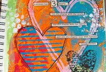 Color my World . . . Art Journal Ideas to Inspire Me / by Laura Douglass