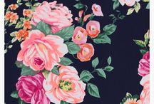 Imprimés Floraux