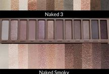 Make up and eyeshadow palettes