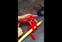 knitting video