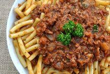 La recette de la sauce bolognaise: