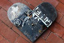Studio - Term 1 - Part B / Ideas for Skateboard transformation