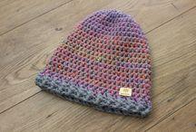 Czapki wełniane / Ręcznie wykonywane czapki zimowe.