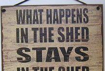 She Sheds & Man Caves