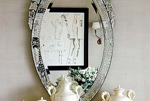 mirror mirror on the wall I am my grandmother after all... / by Donna Dorsey