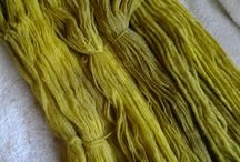 wool -wheelspinning, dye,...