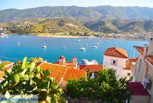 Griekse eilanden dichtbij Athene