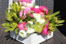 Arreglos florales en cajas