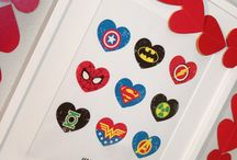 Kids: Superhero Projects. / by Sharon