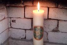 RITUALES WICCA 2015 / Ritual Celta del fuego y la luz del inicio del año. Celebración del Círculo Wicca en México